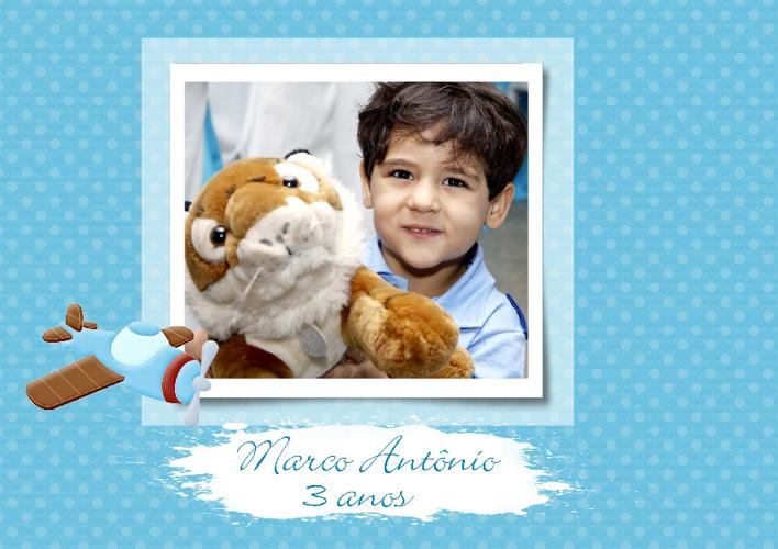 Parabéns para Marco Antônio
