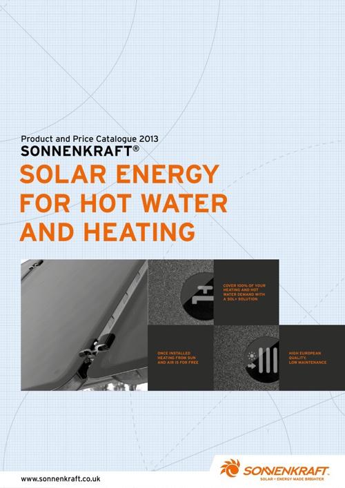 Sonnenkraft Product Catalogue 2013