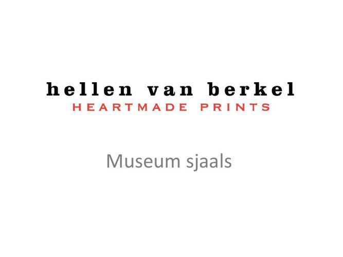 Museum sjaals Hellen van Berkel