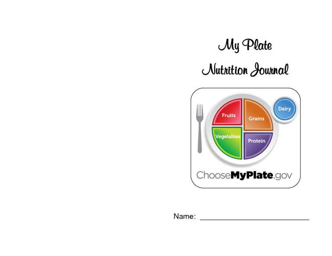 My Plate Nutritional Journal