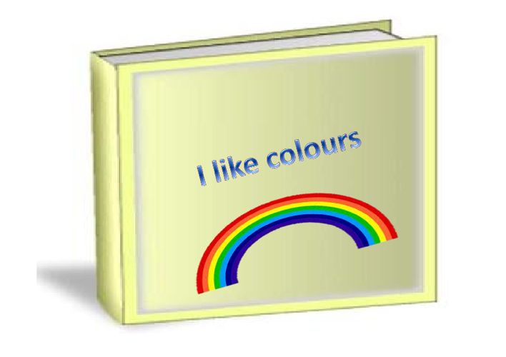 Dakota's I Like Colours Book