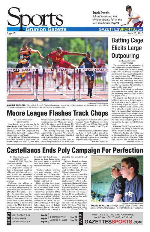 Gazette Sports | May 23, 2013