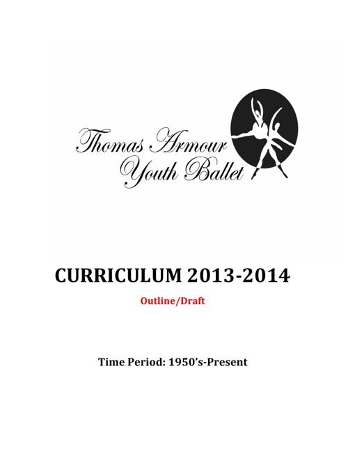 TAYB 2013-2014 Curriculum