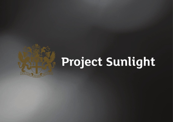 Project Sunlight Book