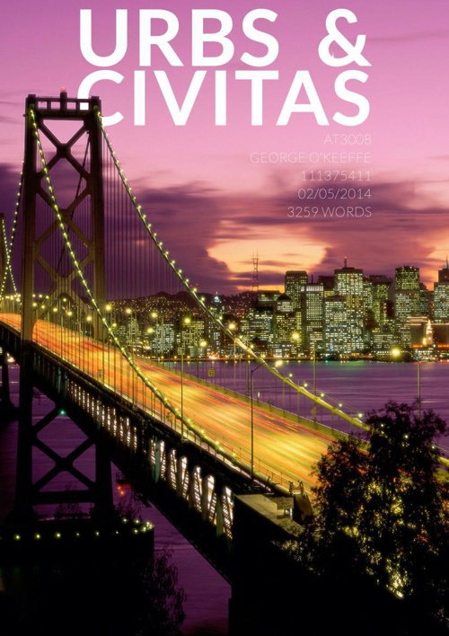 History & Theory Essay 2014 - Urbs and Civitas