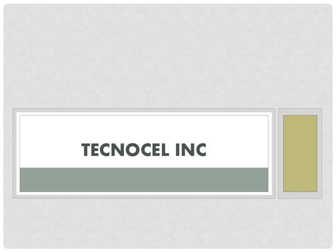 Tecnocel INC