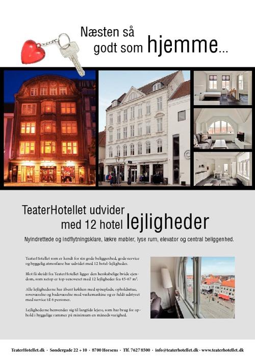 Hotellejligheder i Horsens