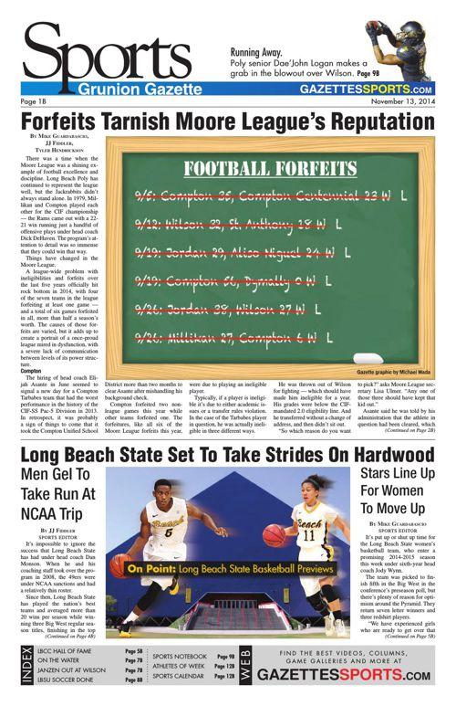 Gazette Sports | November 13, 2014