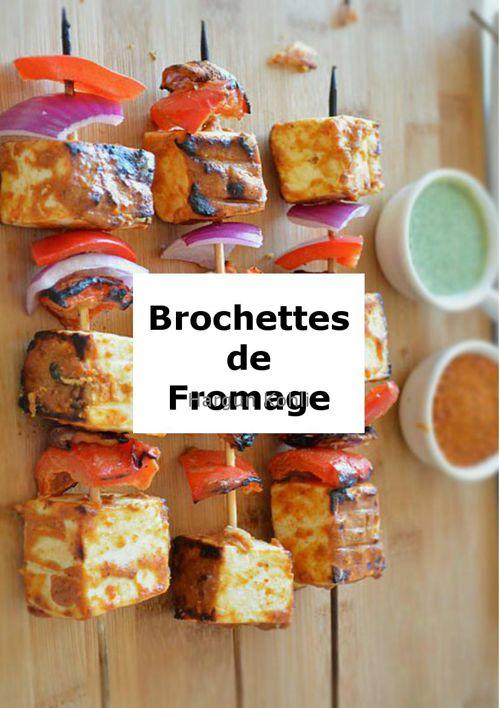 Les Brochettes de Fromage Blanc