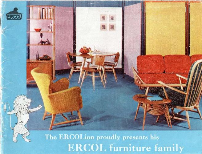 Ercol Catalogue 1958