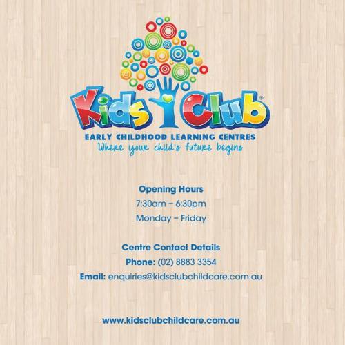 NEW KIDS CLUB BROCHURE (2014) copy