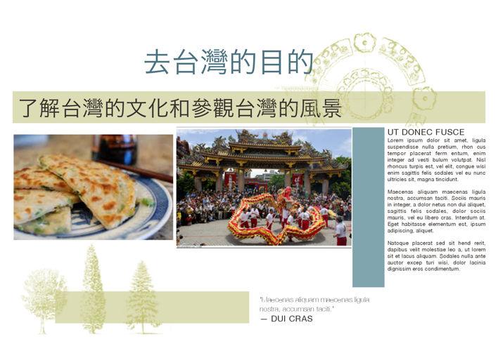 Taiwan interim project