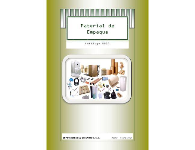 Catálogo 2017  ESKARTON  MATERIAL DE EMPAQUE