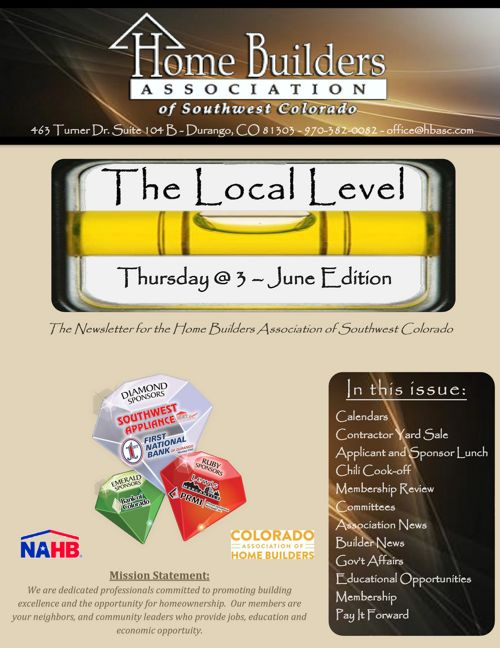 The Local Level ~ Thursday @3 - June edition