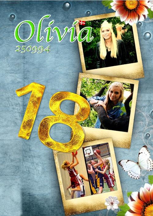 Olivia 18 år
