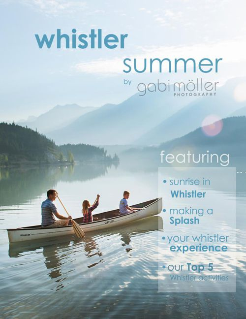 Whistler Summer by Gabi Moeller Photography