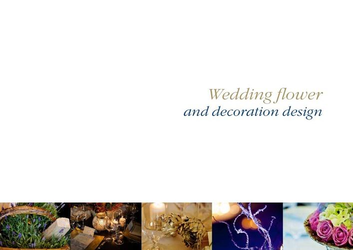 Wedding flower and decoration design