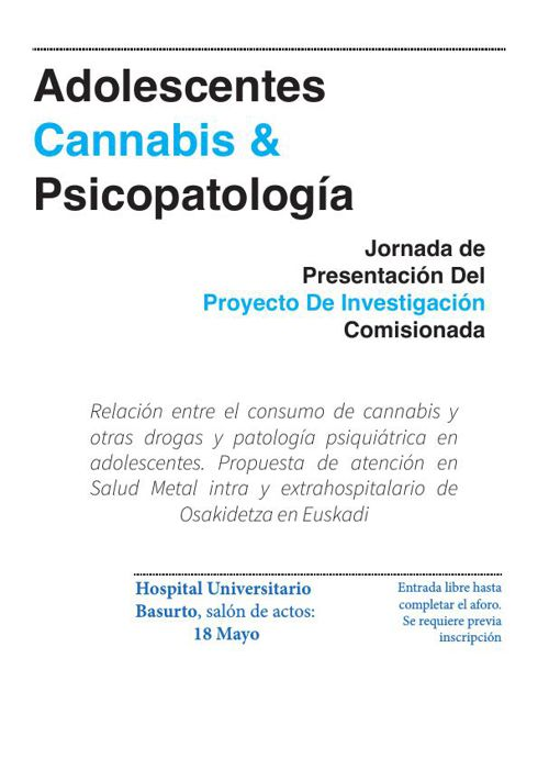 Adolescentes Cannabis & Psicopatología