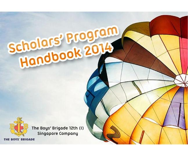 Scholars' Program Handbook 2014
