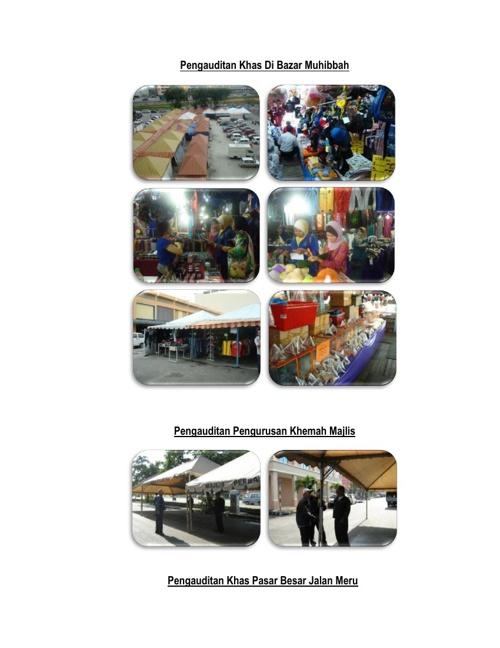 BAHAGIAN AUDIT DALAM (Laman Web MPK) Gambar Aktiviti
