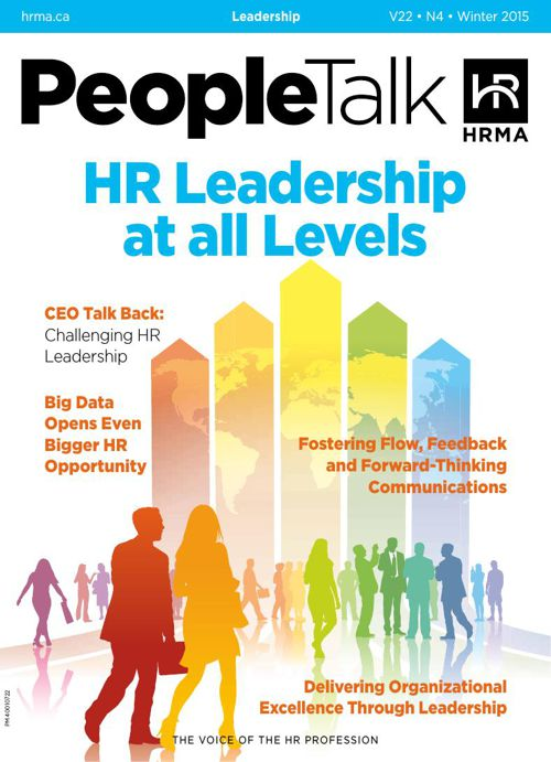 PeopleTalk (Winter 2015) HR Leadership at all Levels