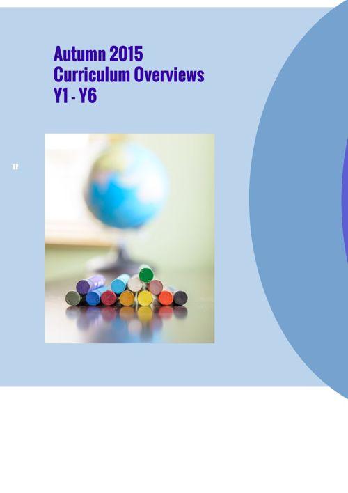 Aut 2015 Overviews