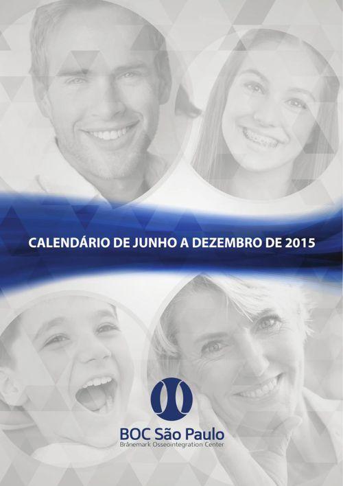 Calendário de Cursos - Brånemark Center São Paulo