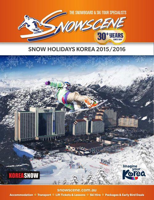 Korea Brochure 2015/2016