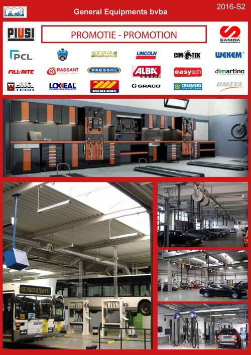 Catalogue «équipements atelier»
