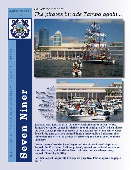 Seven Niner Issue 1 2013