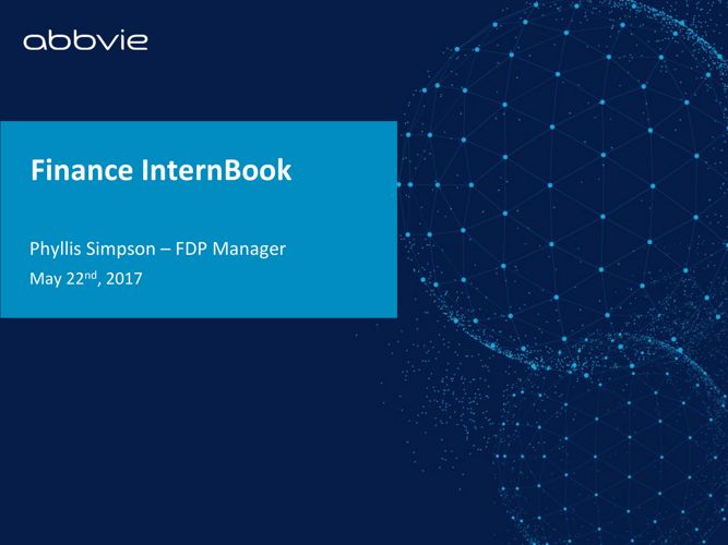 Finance InternBook