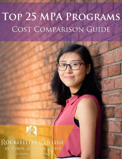 Top 25 MPA Programs Cost Comparison Guide
