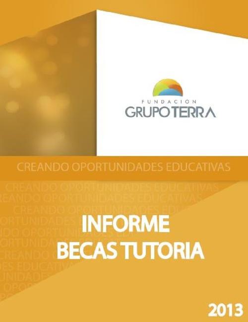 Informe Final Programa Becas Tutoría 2013