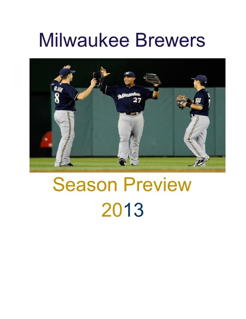 Brewers Season Preview