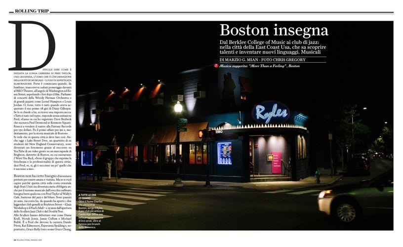 Rolling Stone_Italy_Massachusetts Jazz