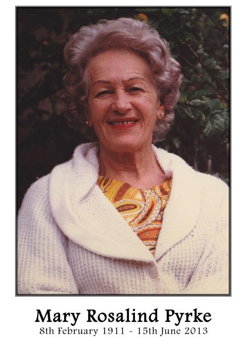 Mary Pyrke