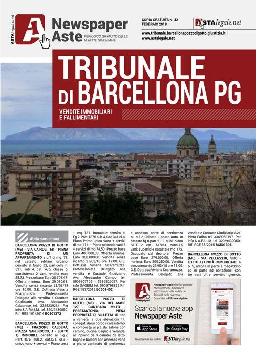 Barcellona febbraio 2018