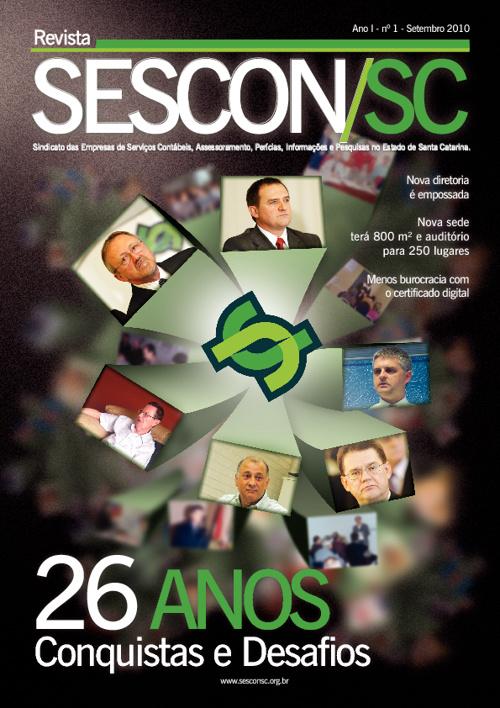 Revista SESCON/SC 1ª Edição