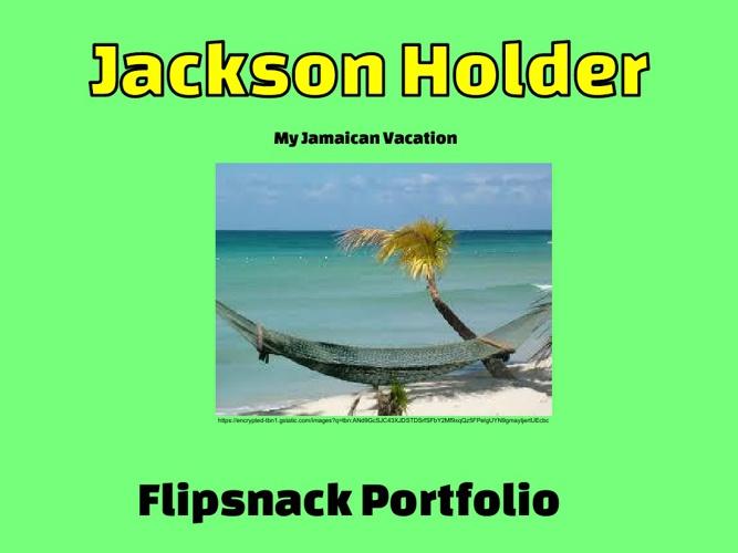 Flipsnack Portfolio - Jackson Holder