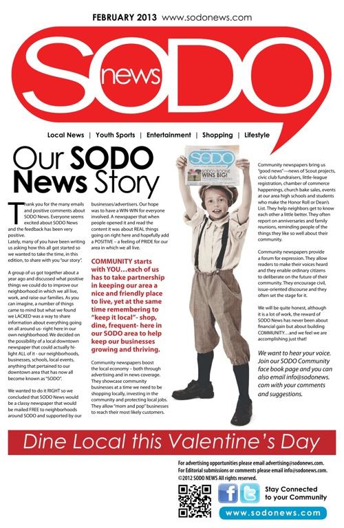 SODO News February 2013