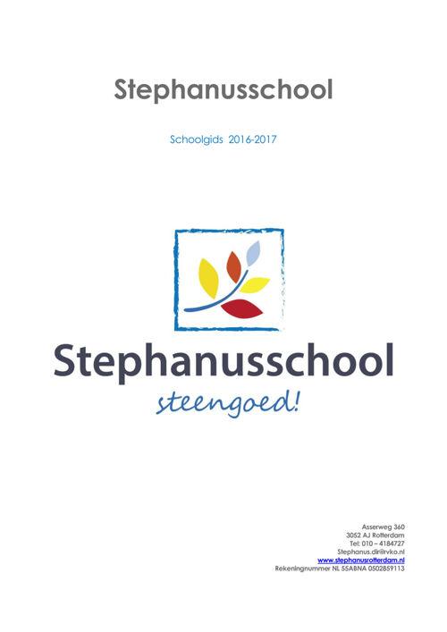 Schoolgids 2016-2017