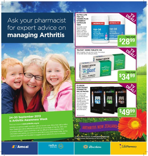 Pharmacybrands October Catalogue 2013