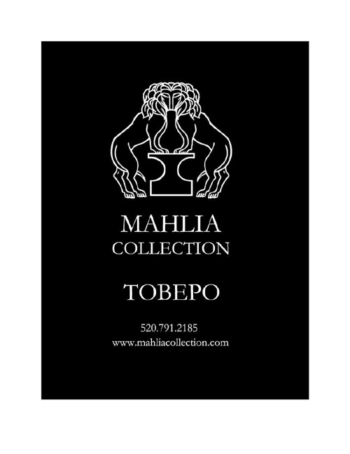 Mahlia Collection Tobepo Lookbook