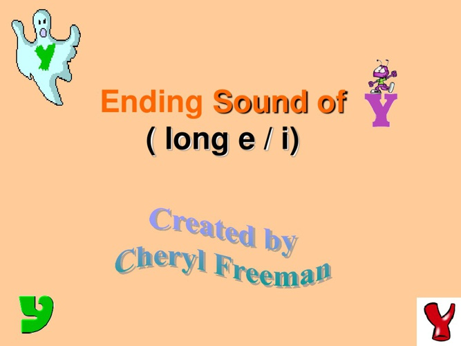 The Ending sound y