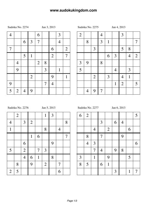 Aktiviti Persatuan Matematik - Sudoku