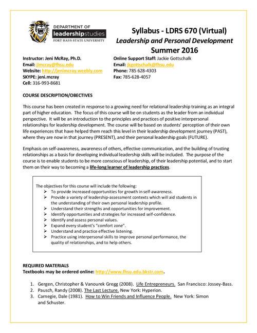 LDRS_670_Syllabus_Summer_2016