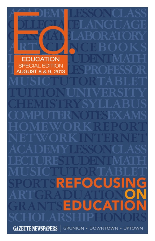 Education Section Special Edition 2013