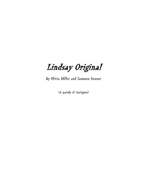 Lindsay (Antigone)