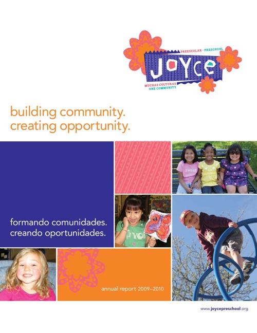 Joyce Preschool - 2009-10 Annual Report