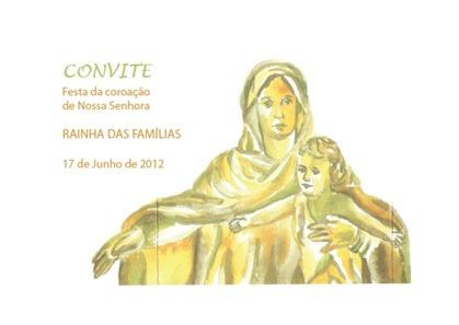 Convite - Coroação Nossa Senhora